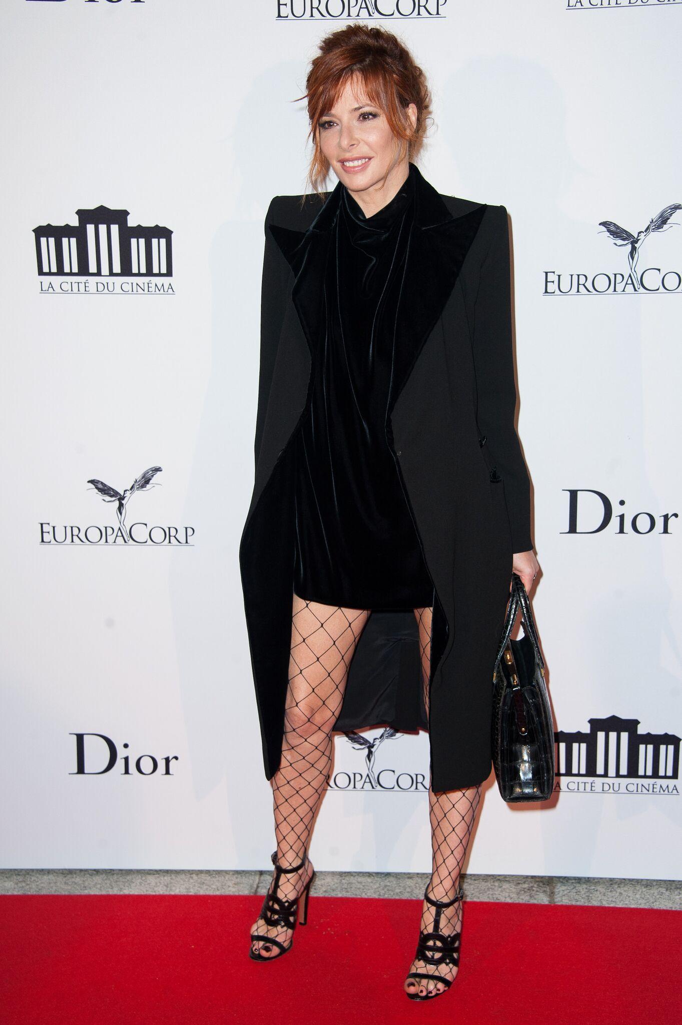 La chanteuse Mylène Farmer. l Source: Getty Images