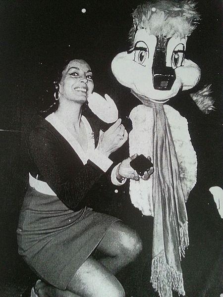 Elsa Aguirre, famosa actriz mexicana. | Imagen: Wikipedia