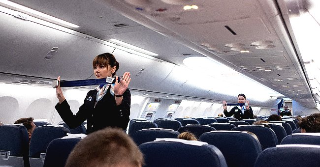 Daily Joke: Clever Stewardess Makes Witty Announcements That Her Passengers Love
