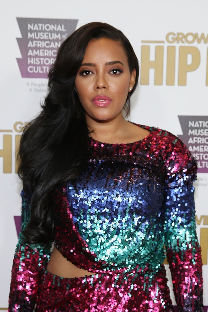 """Cast member Angela Simmons attends WE tv's celebration of """"Growing Up Hip Hop"""" Season 3 at the Smithsonian Institute National Museum of African American History and Culture 