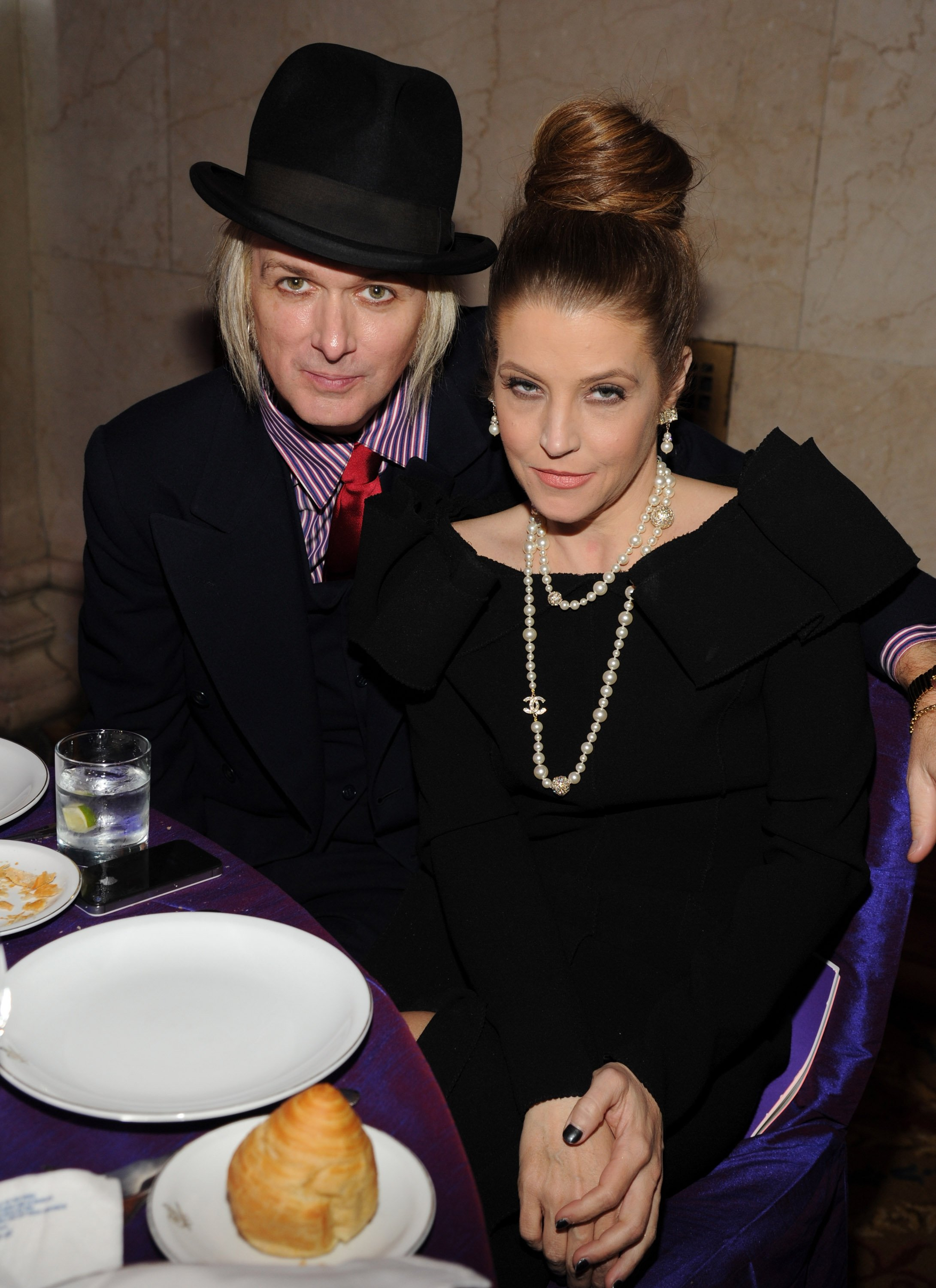 Michael Lockwood und Lisa Marie Presley, 2013 | Quelle: Getty Images