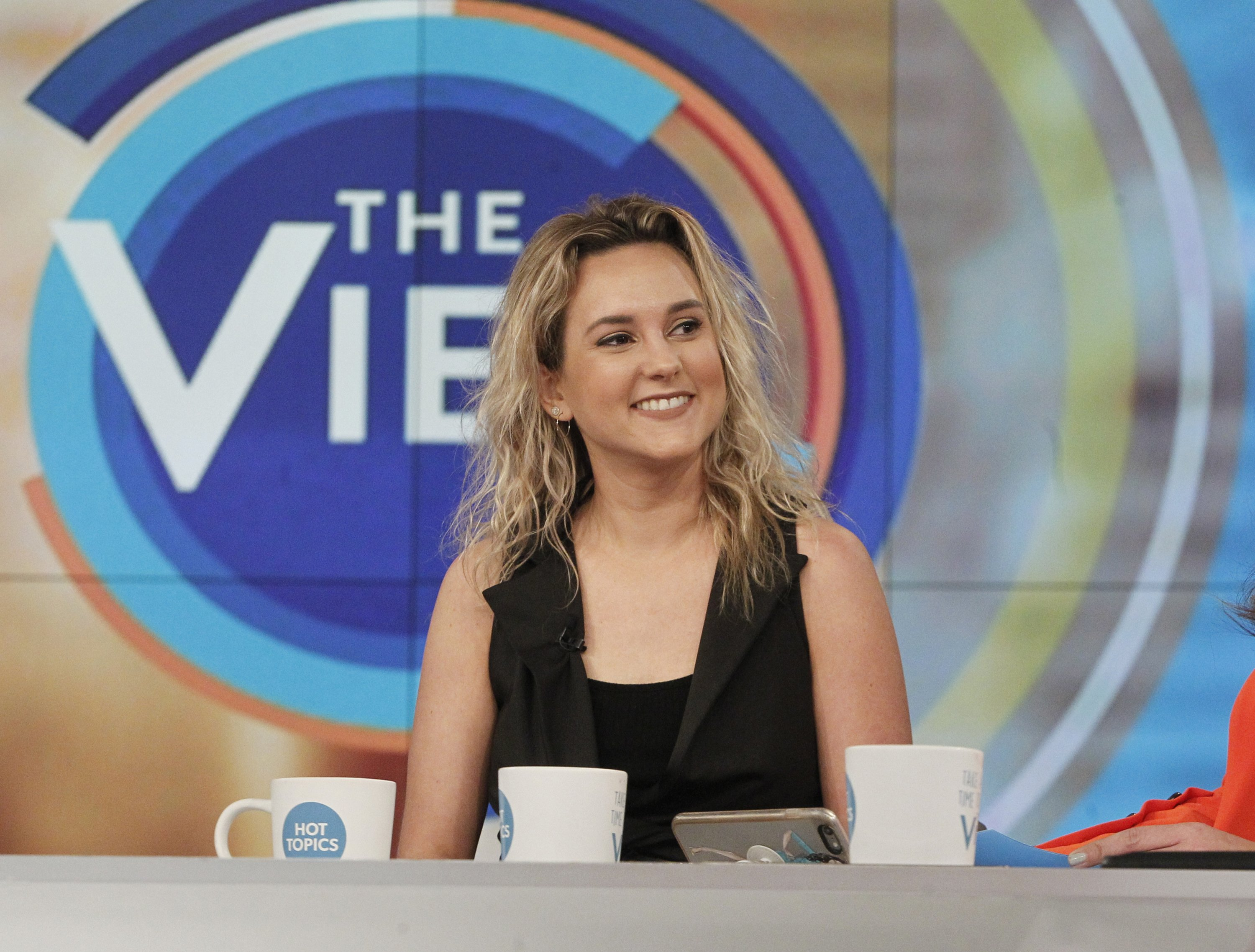 "Charlotte Pence on ""The View"" on March 20, 2018  