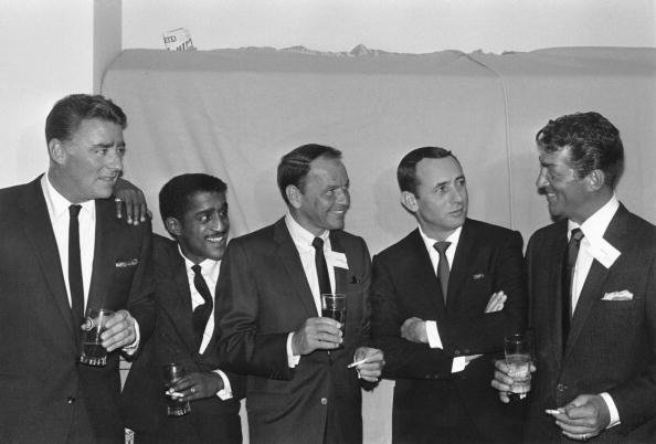 The Rat Pack pictured in 1955. | Photo: Getty Images