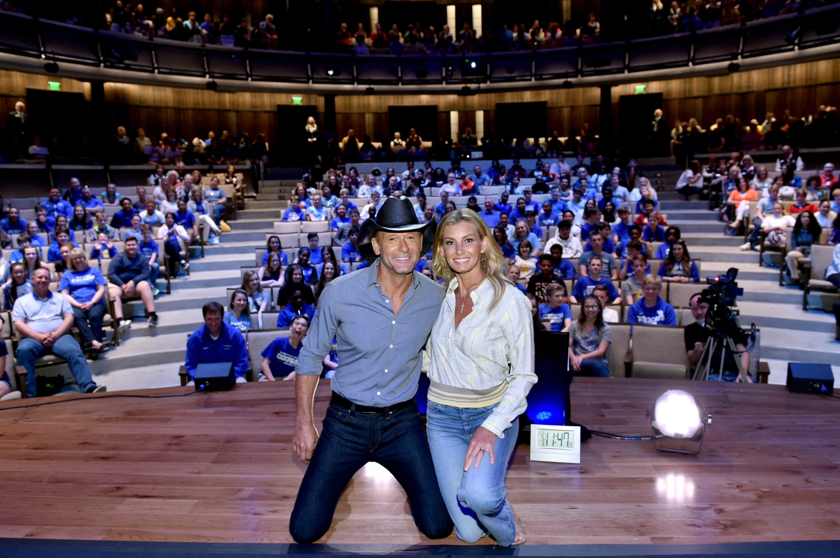 Faith Hill and Tim McGraw partook in a Country Music Hall of Fame music program in Nashville, May, 2018.   Photo: Getty Images.