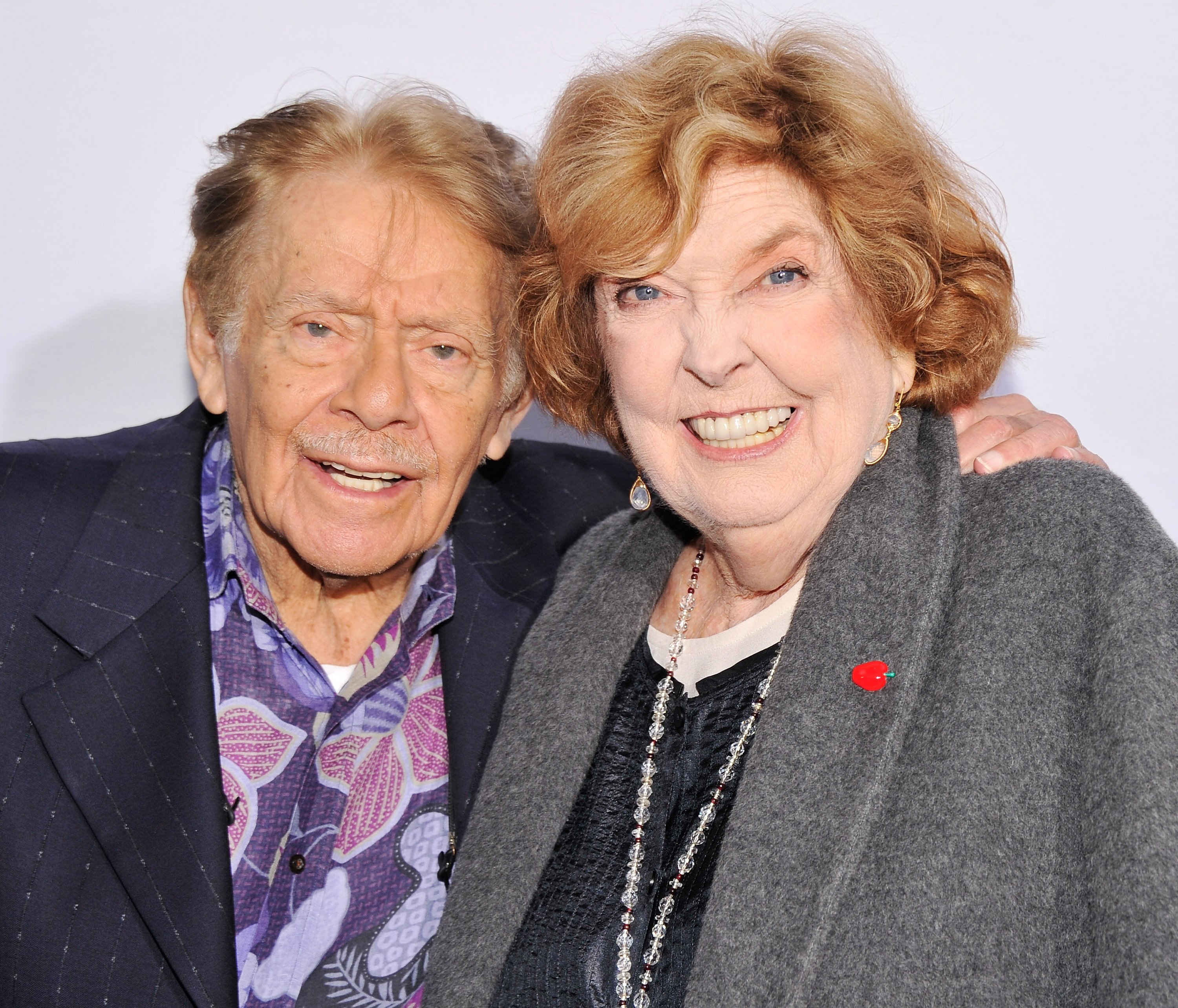 Jerry Stiller and Anne Meara attend the 2012 Made In NY Awards. | Source: Getty Images