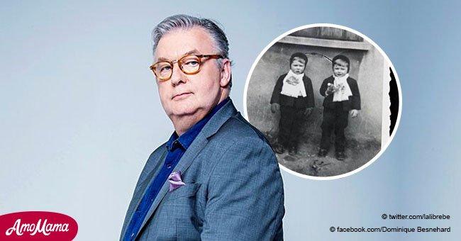 Dominique Besnehard montre son frère jumeau pour la première fois, prouvant leur ressemblance frappante