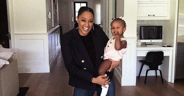 Tia Mowry Finds a Way to Make Her Daughter Smile for Photos and Shares the Hack