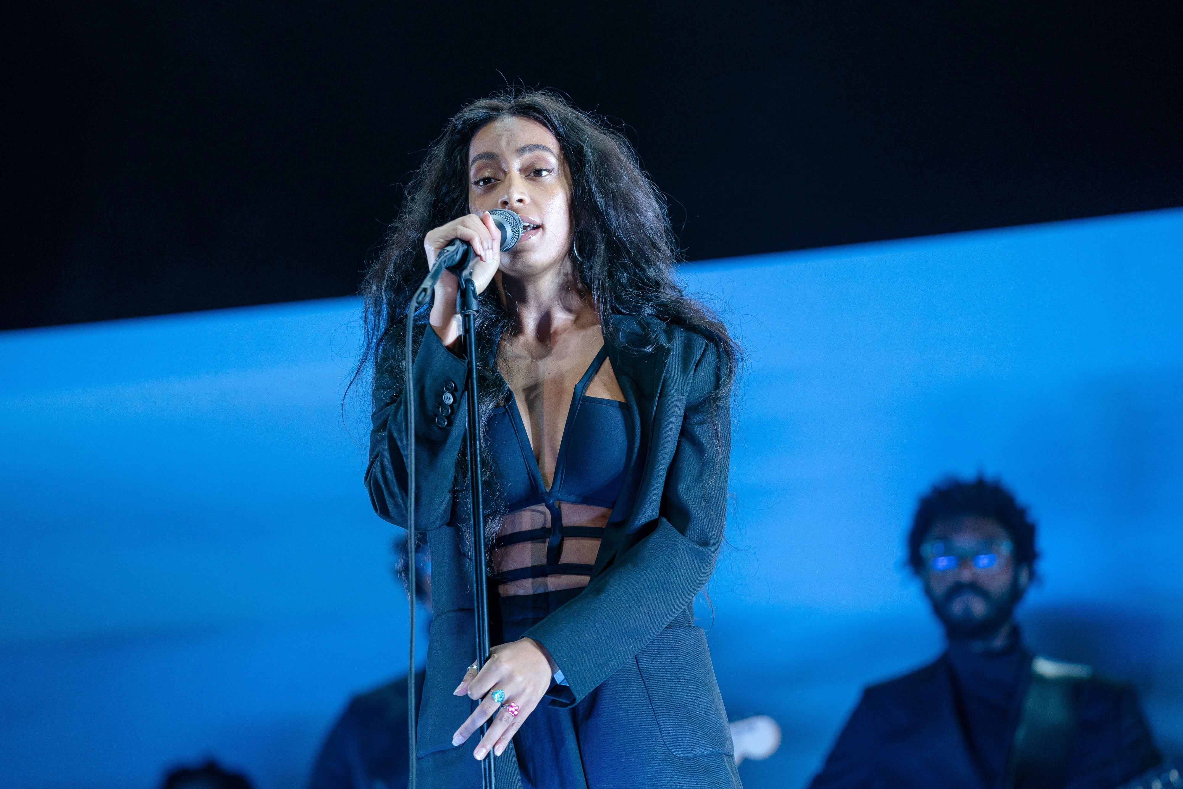 Solange at the Lovebox 2019 in Gunnersbury Park in London/ Source: Getty Images
