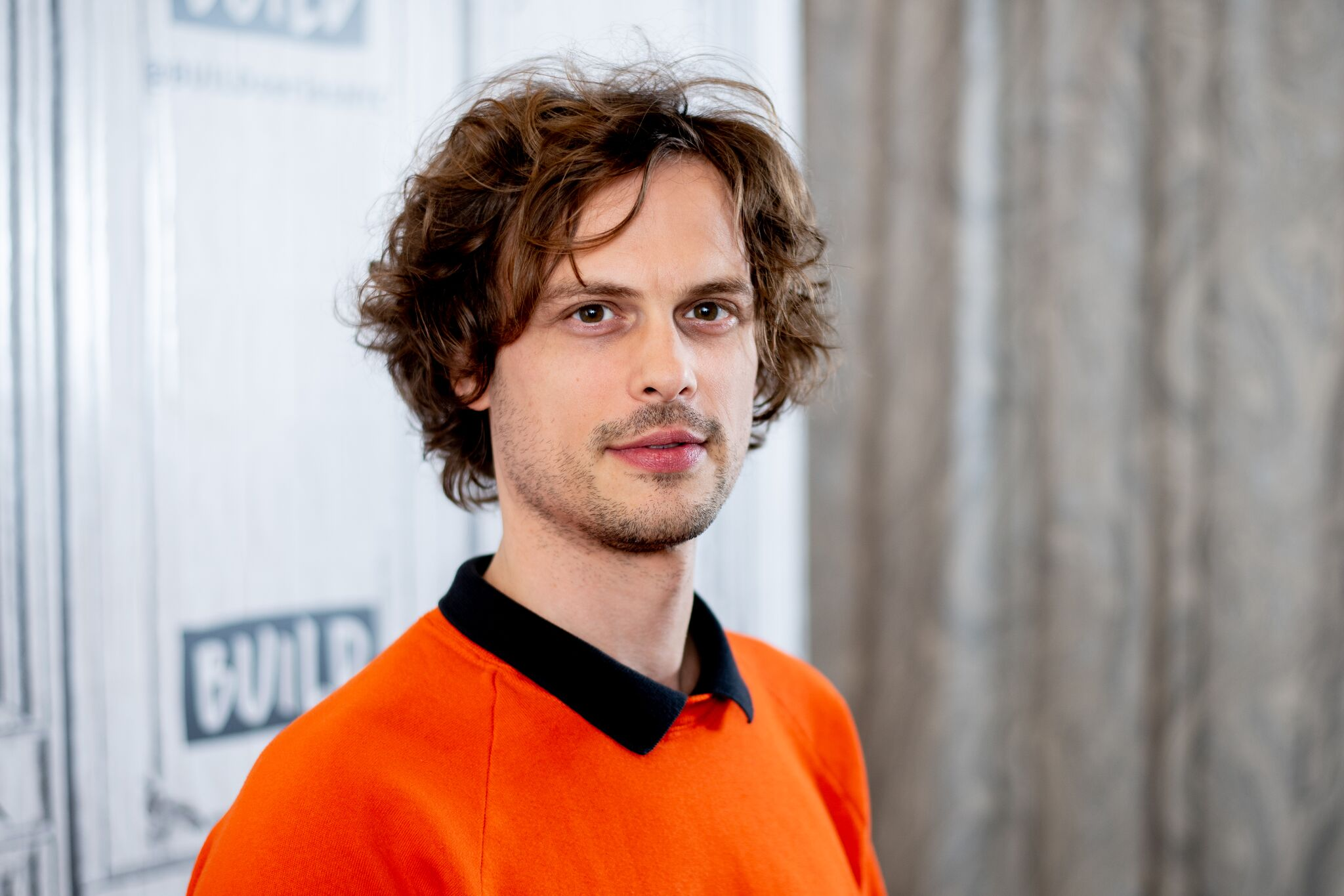 Matthew Gray Gubler visits Build Series | Getty Images / Global Images Ukraine