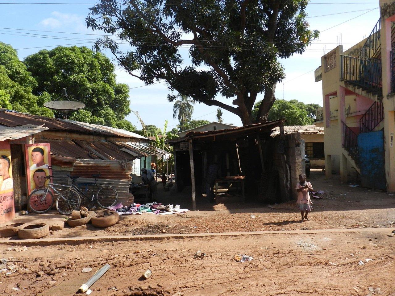 Aldea de Gambia. Fuente: PxHere