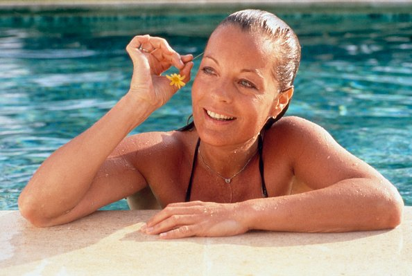 Romy Schneider en vacances en Sicile. | Photo : Getty Images