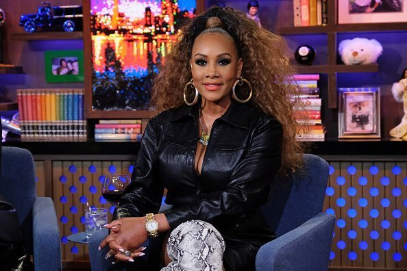 """Vivica A. Fox on """"Watch What Happens Live with Andy Cohen"""" Season 16 on November 10, 2019   Photo: Getty Images"""