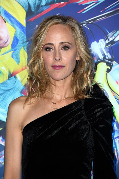 Kim Raver at Dodger Stadium on January 21, 2020 in Los Angeles, California.   Photo: Getty Images