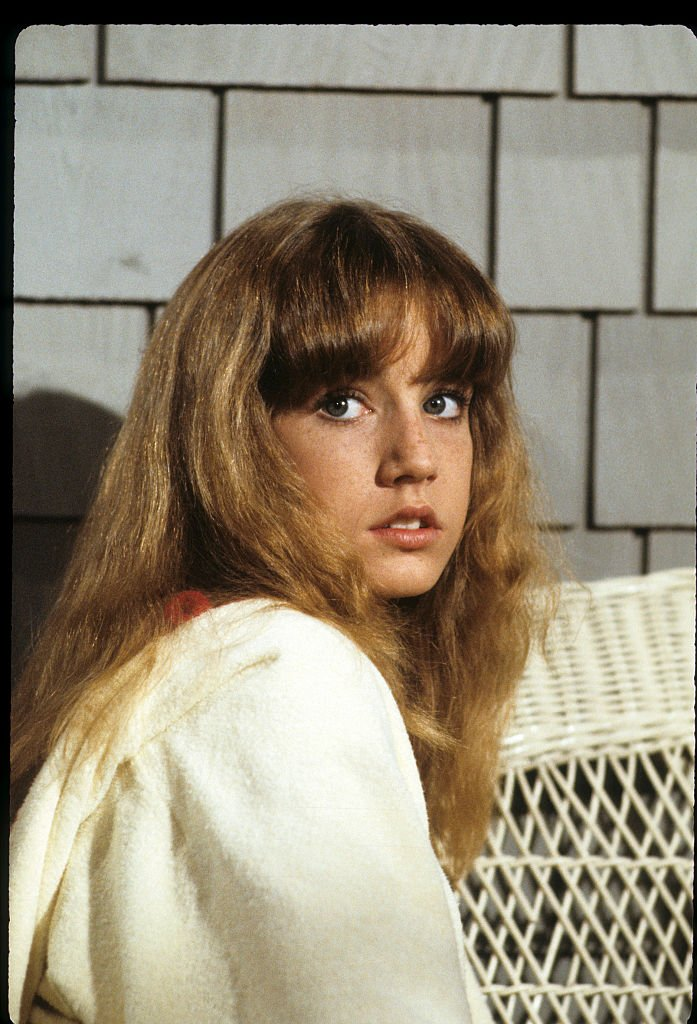"""Dana Plato on the set of """"Letting Go""""   Photo: Getty Images"""