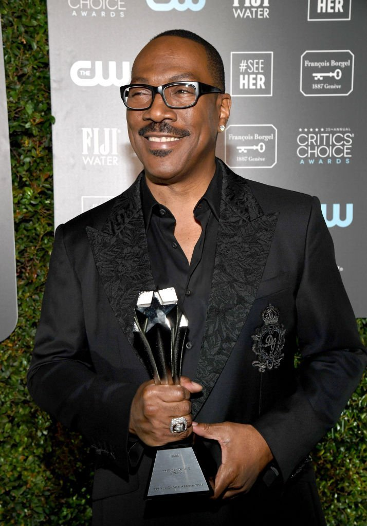 Eddie Murphy attends the 25th Annual Critics' Choice Awards at Barker Hangar | Photo: Getty Images