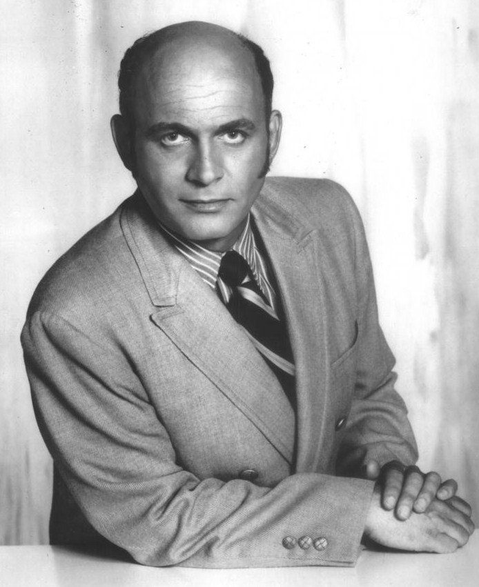 "Publicity photograph of Gavin MacLeod as Murray Slaughter on ""The Mary Tyler Moore Show"" 