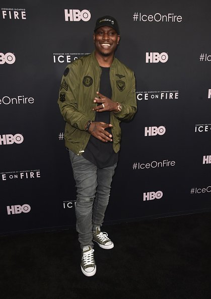"Tyrese Gibson at the L.A. premiere of HBO's ""Ice On Fire"" on June 05, 2019 