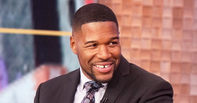 Michael Strahan's Oldest Daughter Tanita Flaunts Her Freckles in a Cleavage Revealing Red Dress