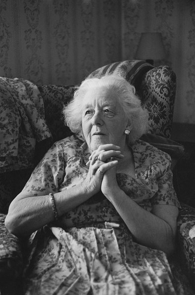 Margaret Rutherford, Radio Times, September 1970 | Quelle: Getty Images