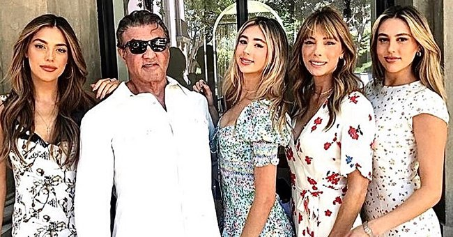 Sylvester Stallone's All 3 Daughters Are Stunners as They Celebrate Scarlet's Graduation