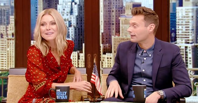 Kelly Ripa Returns to 'Live with Kelly and Ryan' after Being Hospitalized