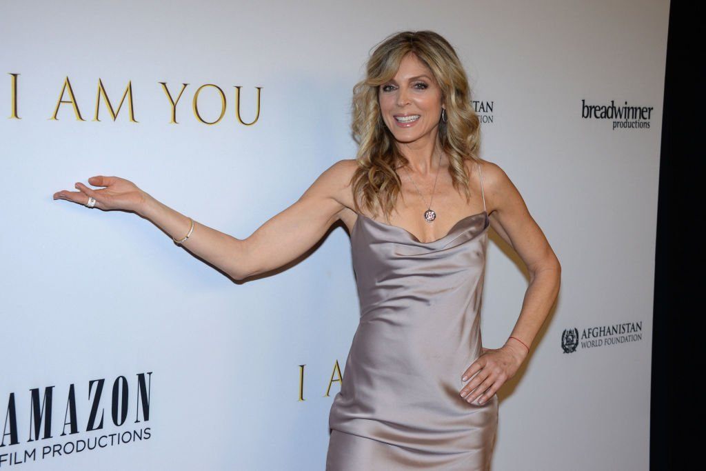 """Marla Maples attends New York Premiere Of """"I Am You"""" at Pier 59 Studios on February 6, 2020 