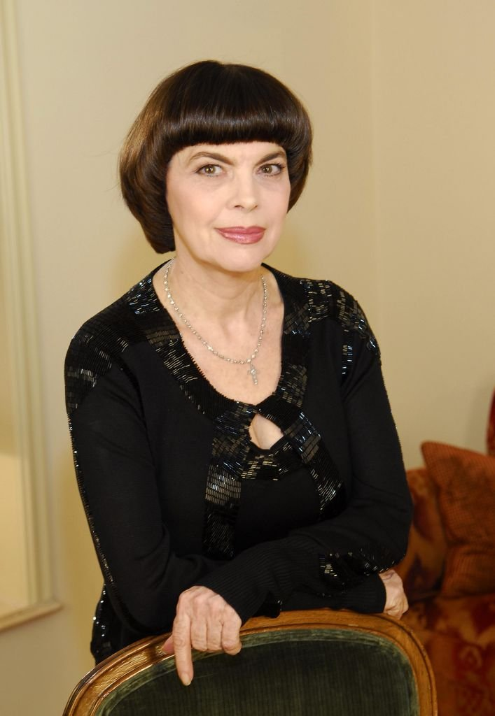 La chanteuse Mireille Mathieu. | Photo : Getty Images