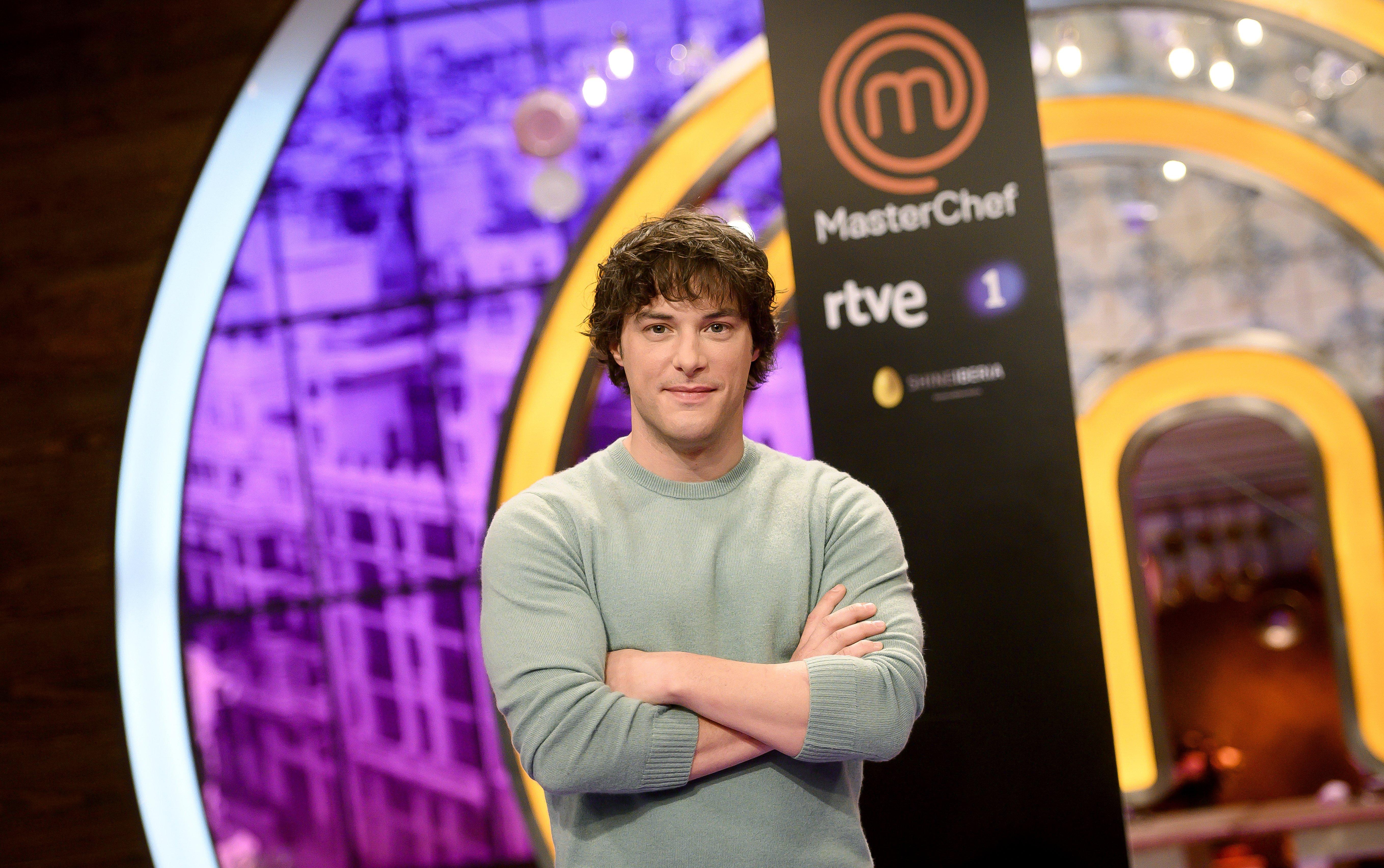 Jordi Cruz en la presentación de MasterChef 7 en RTVE en marzo de 2019 || Fuente: Getty Images