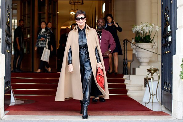 Kris Jenner at a hotel in Paris, France on September 23, 2019 | Photo: Getty Images