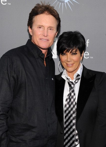 Bruce Jenner, Kris Kardashian arrive for the City of Hope honoring Shelli And Irving Azoff with the 2011 Spirit of Life award at Universal Studios Hollywood on May 7, 2011, in Universal City, California. | Source: Getty Images.