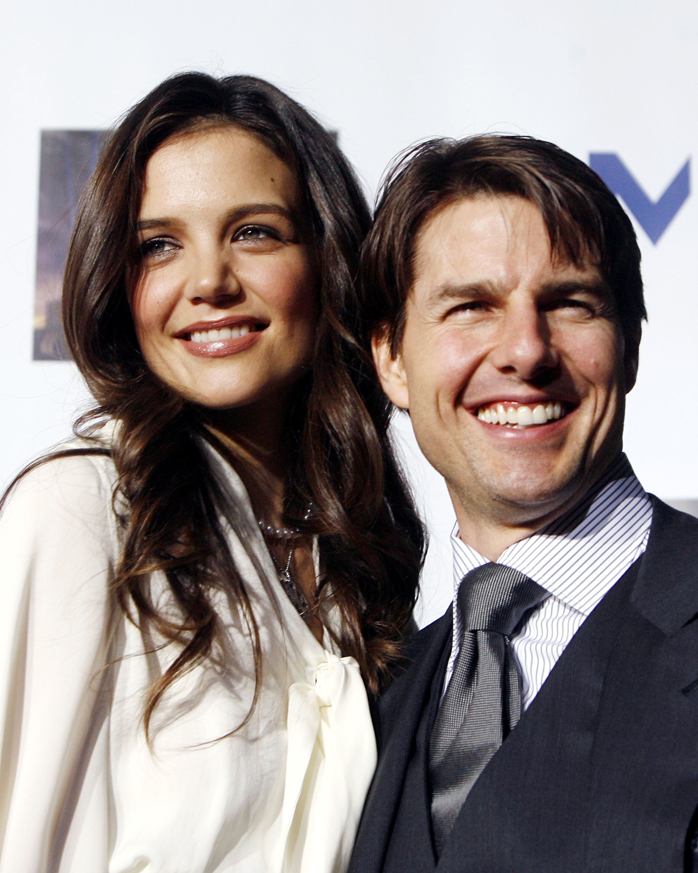 Katie Holmes and Tom Cruise arrive at MENTOR LA's Promise Gala honoring Tom Cruise | Photo: Getty Images