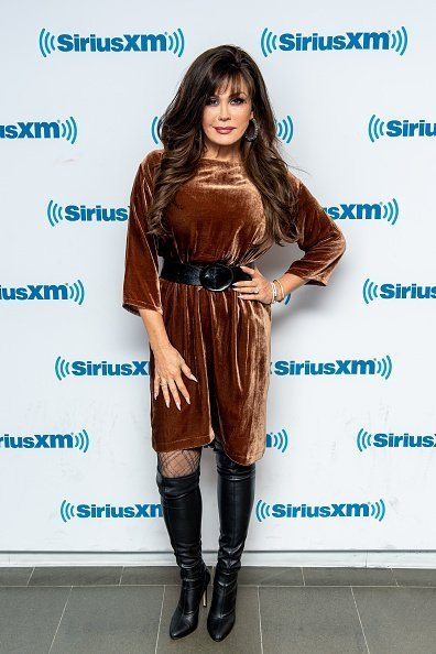 Marie Osmond visits SiriusXM Studios in New York City. | Photo: Getty Images