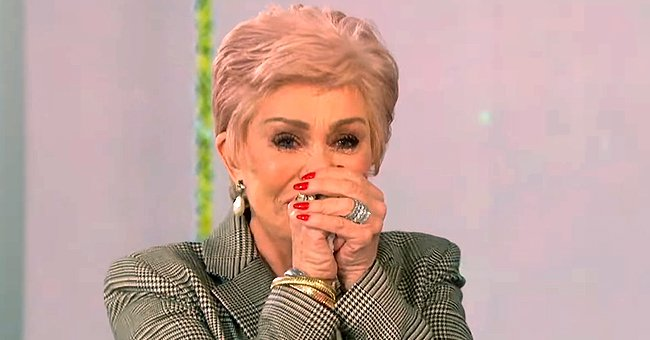 Here's Why Sharon Osbourne Couldn't Stop Crying over Sara Gilbert's Birthday Gift on 'The Talk'