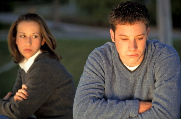 Photo of young couple immediately after having an argument | Photo: Getty Images