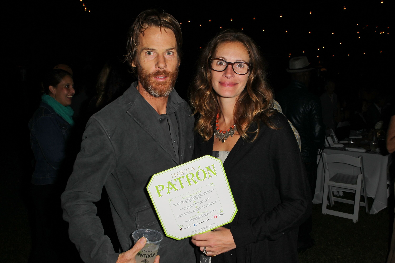 Julia Roberts et son mari Daniel Moder. l Source : Getty Images