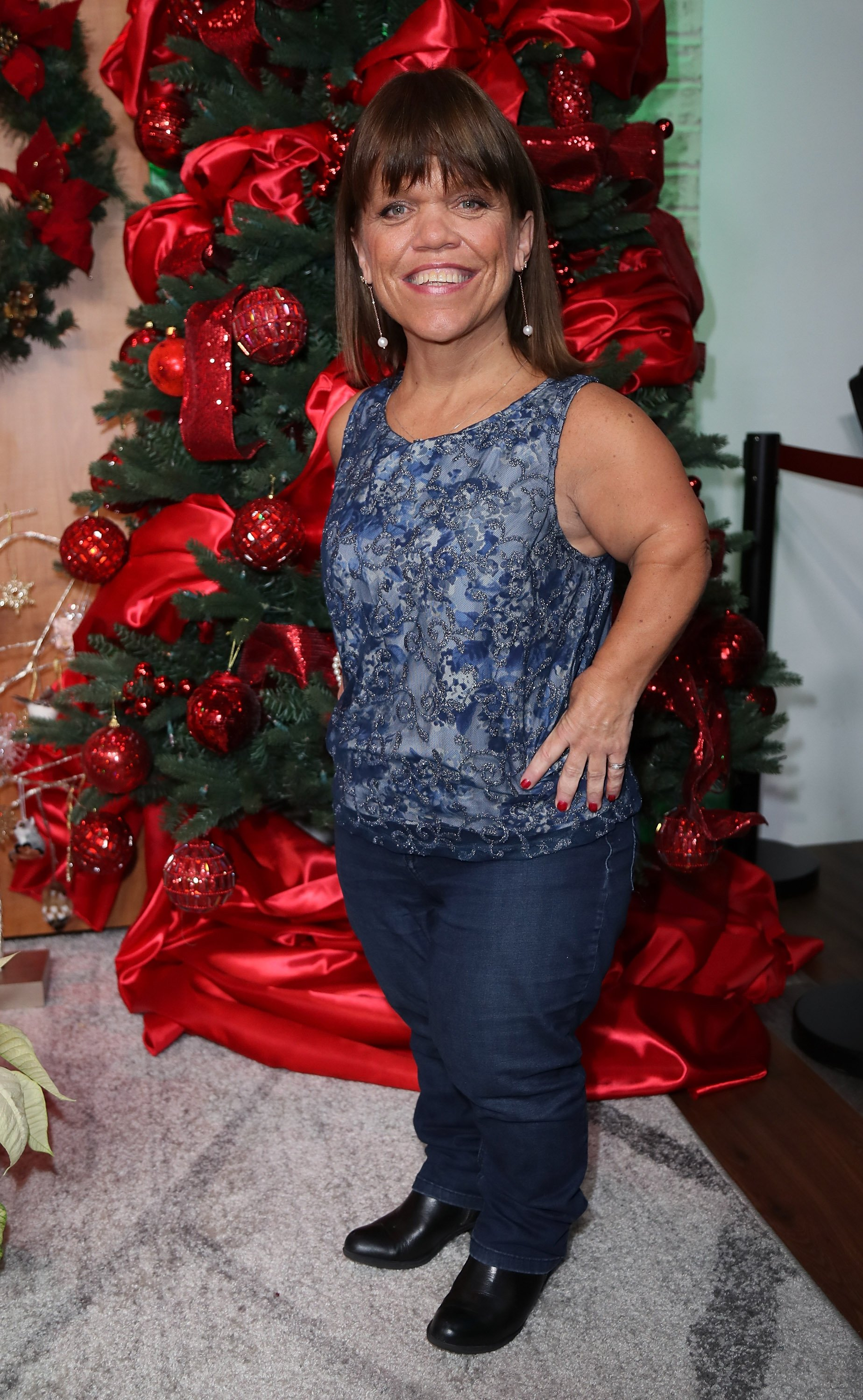 Amy Roloff visits Hollywood Today Live at W Hollywood on December 13, 2016 in Hollywood, California   Photo: Getty Images