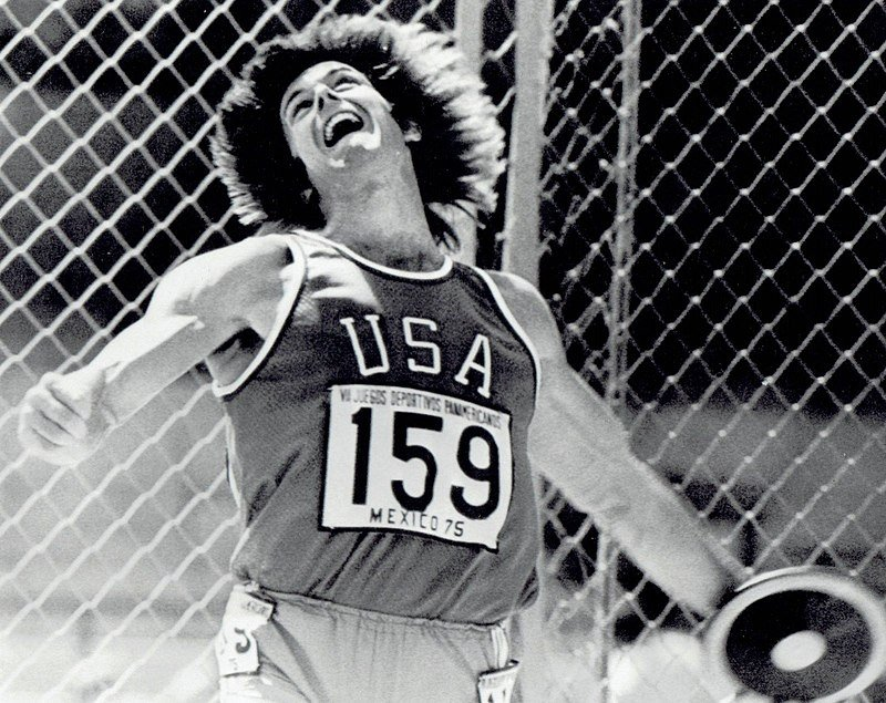 Olympic champion Bruce Jenner at the 1975 Pan American Games | Source: Getty Images
