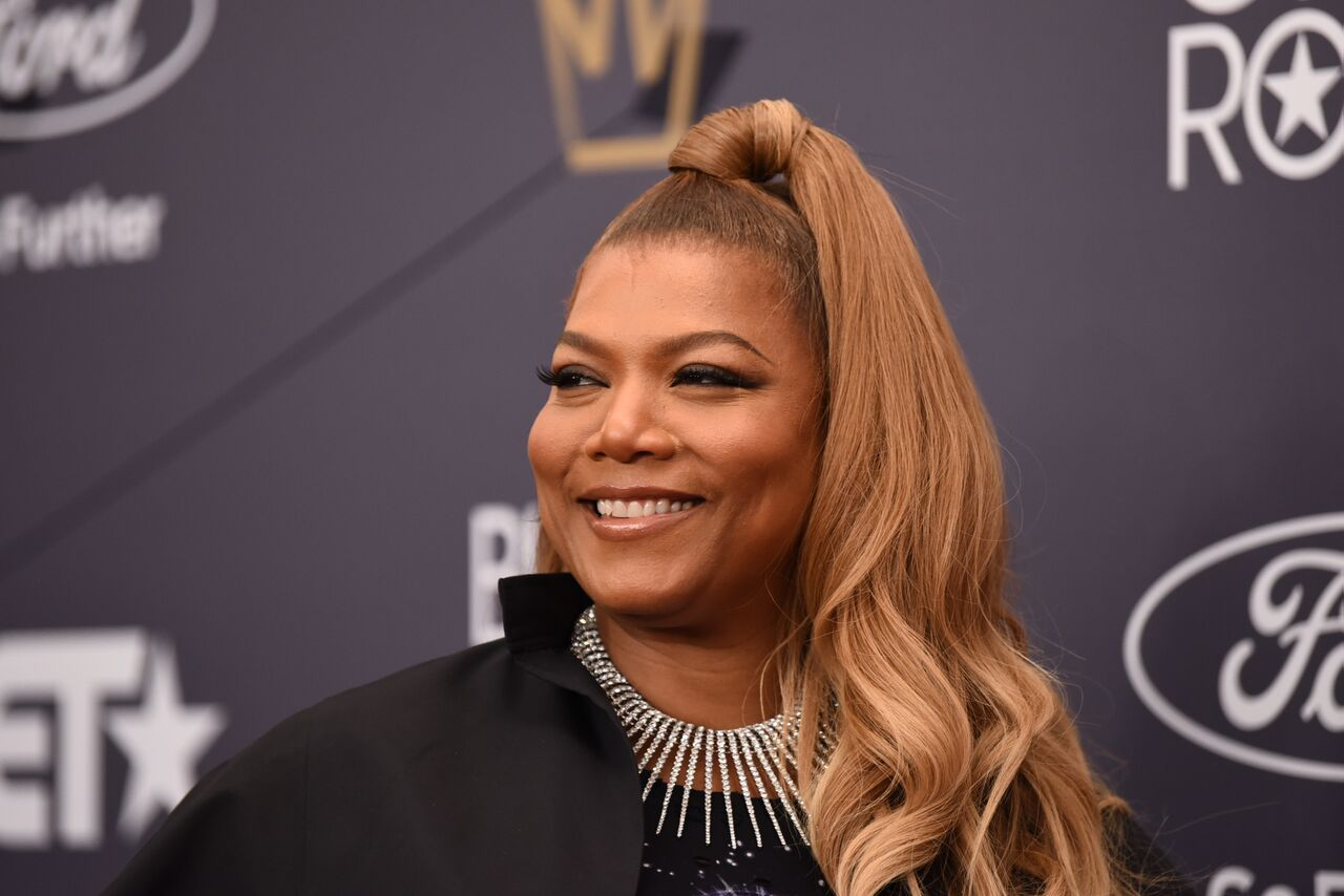 Rapper and actress Queen Latifah at the BET Awards/ Source: Getty Images