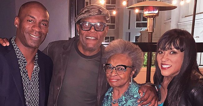 Jackée Harry of 227 Fame Shares Photo from Dinner with Acting Legends Hattie Winston & Samuel L Jackson