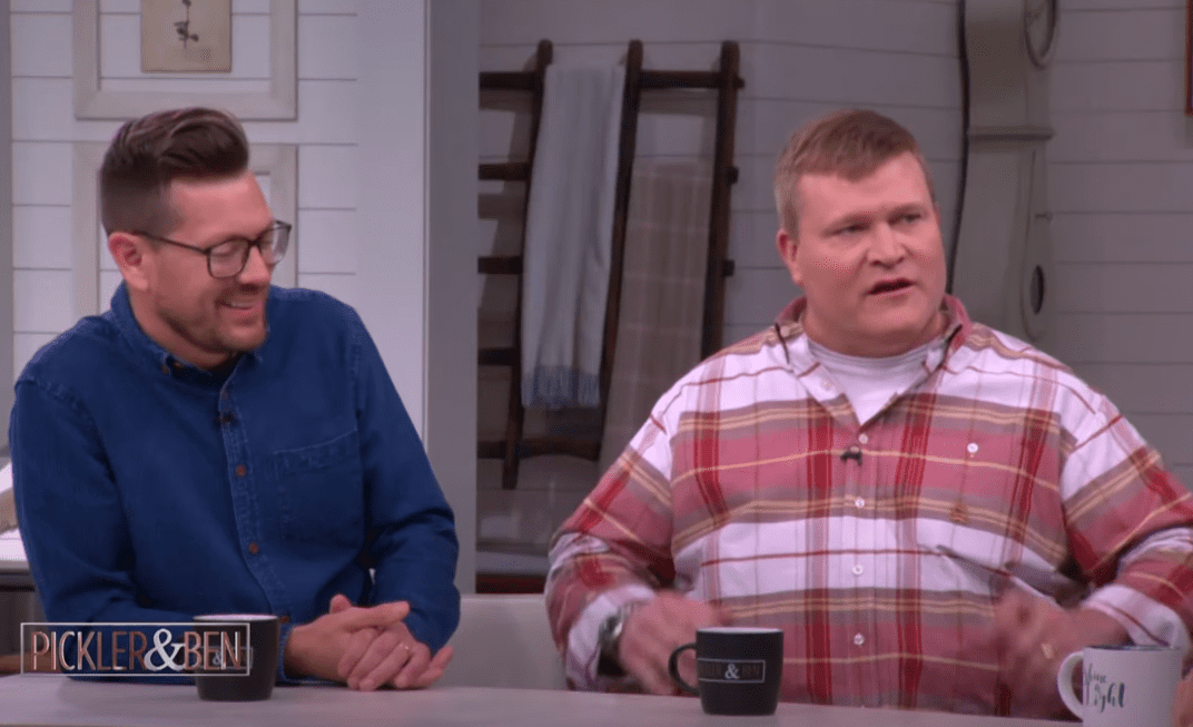 """Luke Caldwell and Clint Roberson on """"Pickler & Ben"""" in 2019 