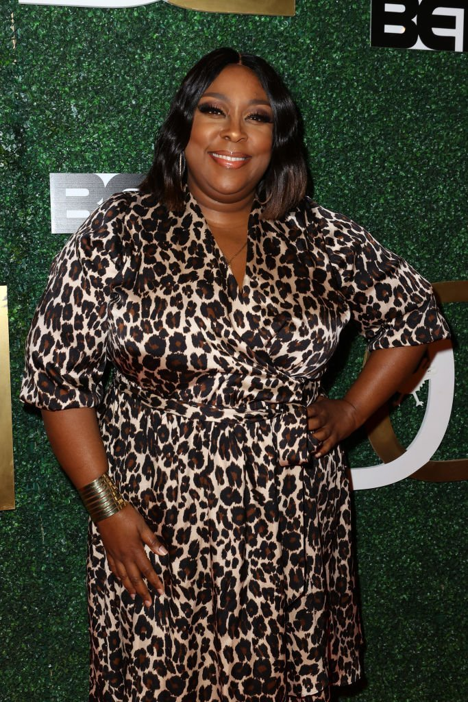 Loni Love attends The Diaspora Dialogues' 3rd Annual International Women of Power Luncheon.   Source: Getty Images