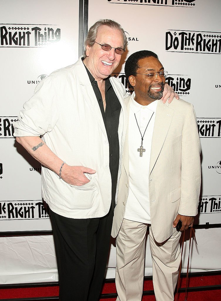 Danny Aiello and Spike Lee. I Image: Getty Images.