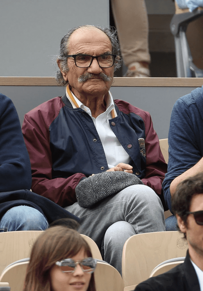 Gérard Hernandez assiste à la cinquième journée des Internationaux de France 2019 au stade de Roland Garros le 30 mai 2019 à Paris, France. | Photo : Getty Images