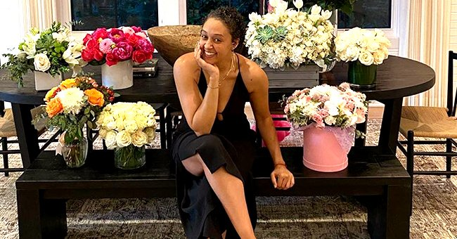See Tia Mowry's Large Collection of Bouquets and Balloons That She Received on Her Birthday (Photo)