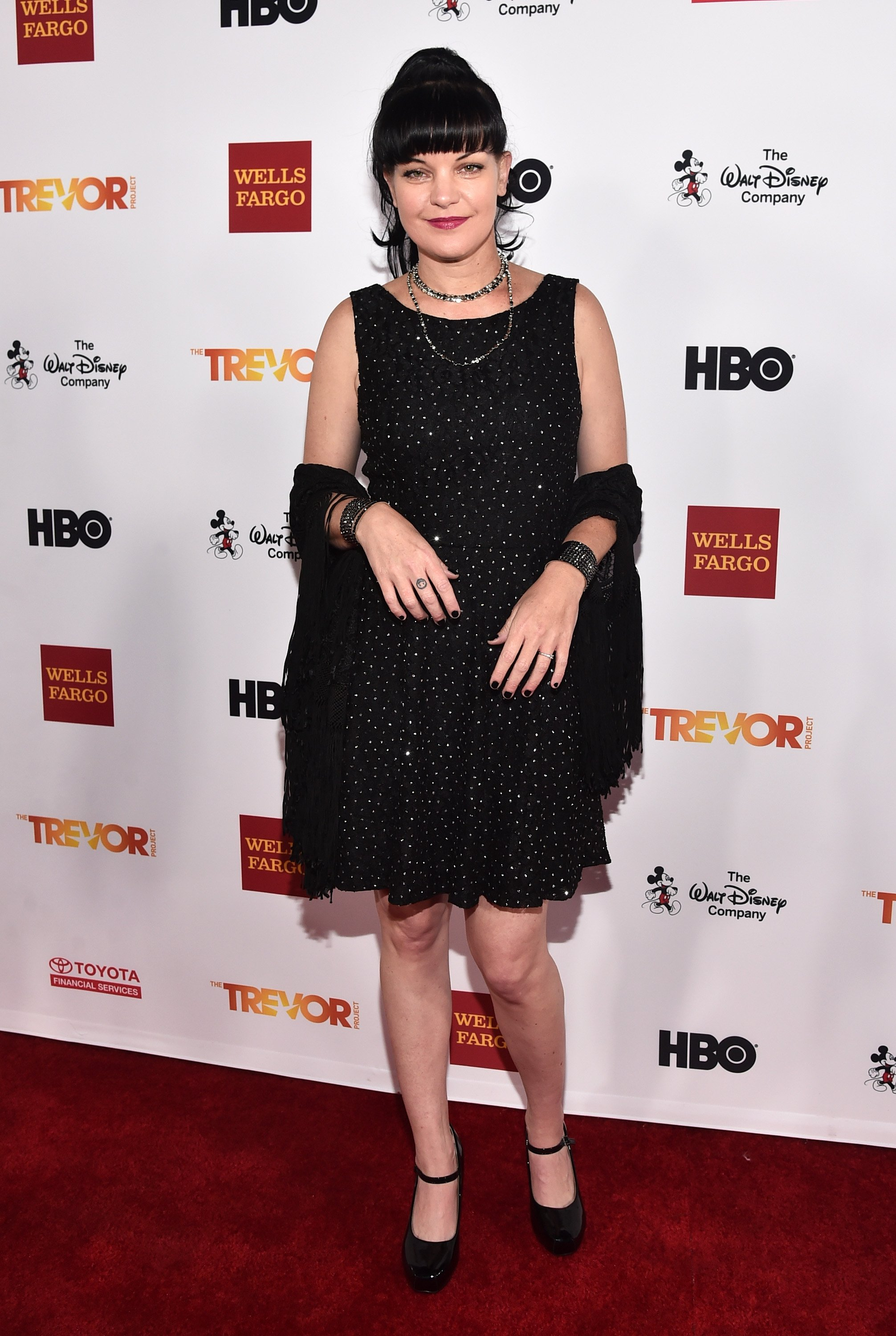 Actress Pauley Perrette attends TrevorLIVE LA 2015 at Hollywood Palladium on December 6, 2015|Photo:Getty Images
