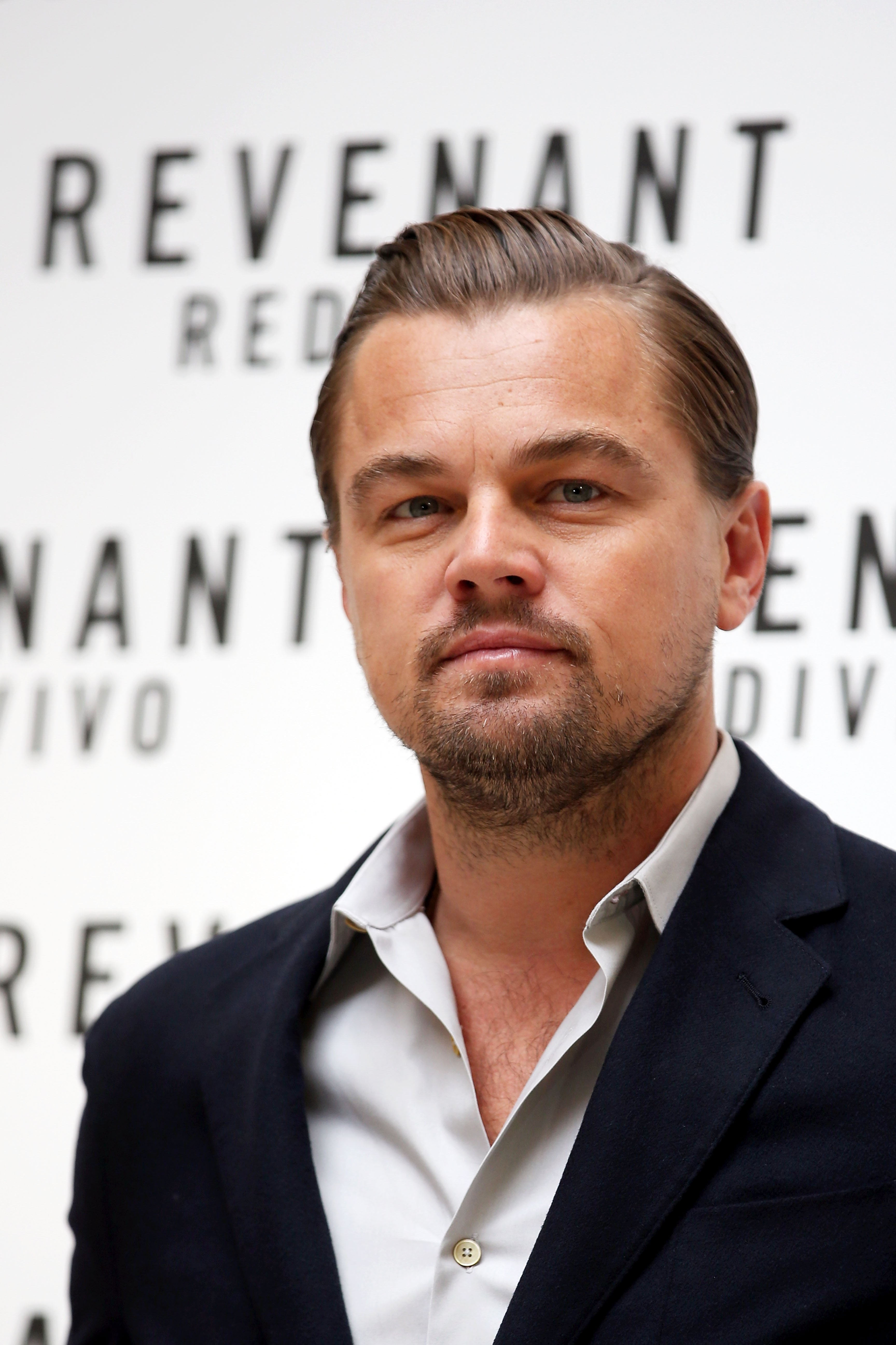 Leonardo DiCaprio attends a photocall for 'The Revenant' on January 16, 2016, in Rome, Italy. | Source: Getty Images.