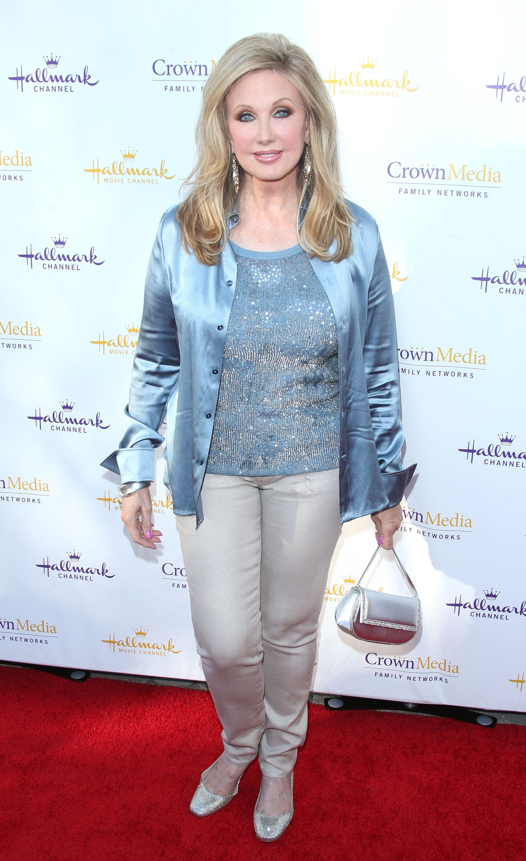 Morgan Fairchild attends the Hallmark Channel & Hallmark Movie Channel's 2014 Summer TCA Party on July 8, 2014 | Photo: GettyImages