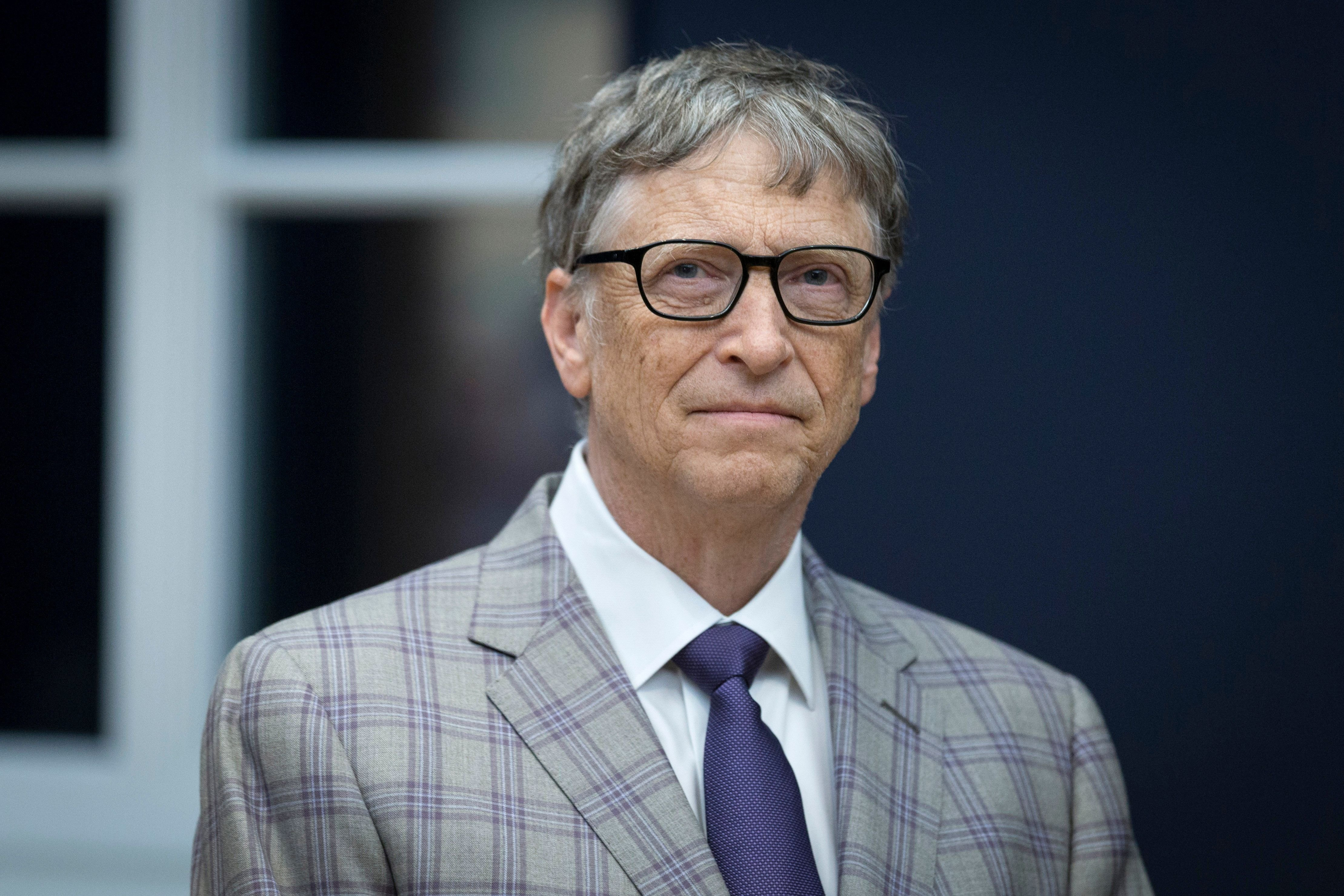 Bill Gates at the opening of the Barberini Museum on January 20, 2017 in Potsdam   Photo: Getty Images