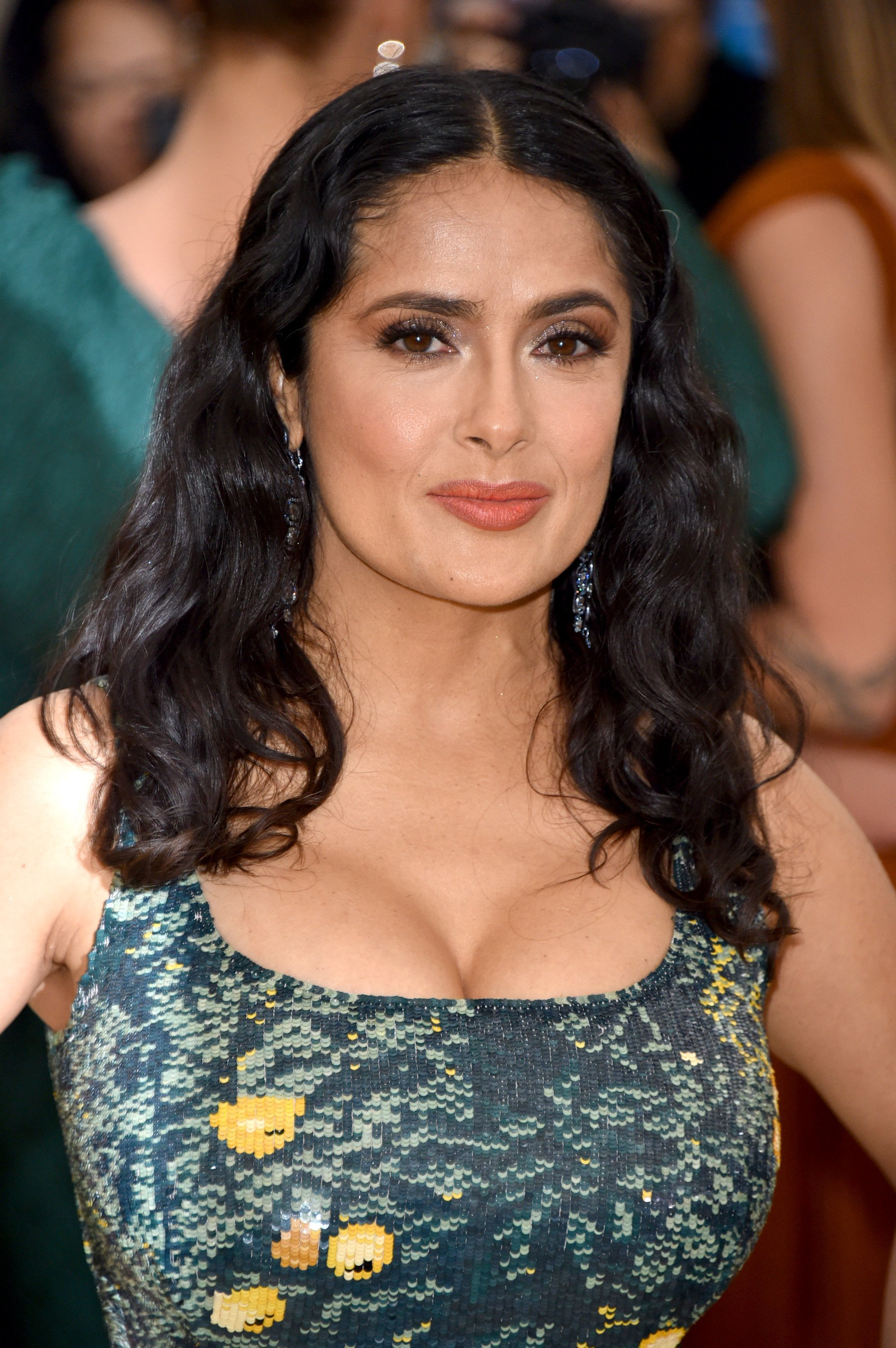 Salma Hayek, actress, will be featured on the cover of British Vogue for the September 2019 issue | Photo: Getty Images