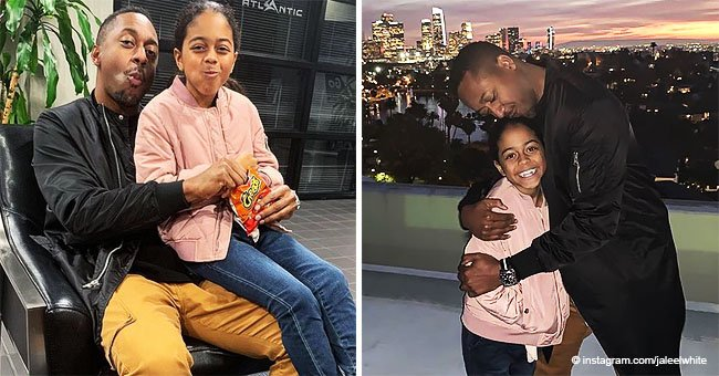 Jaleel White reveals his 'baby is back home' and showers her with love in adorable photos